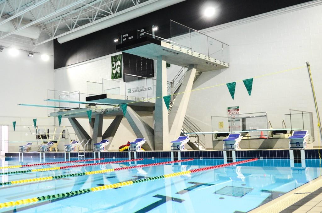 Bassin d'échauffement du Centre sportif de l'Université de Sherbrooke<span>Sherbrooke, Québec</span>