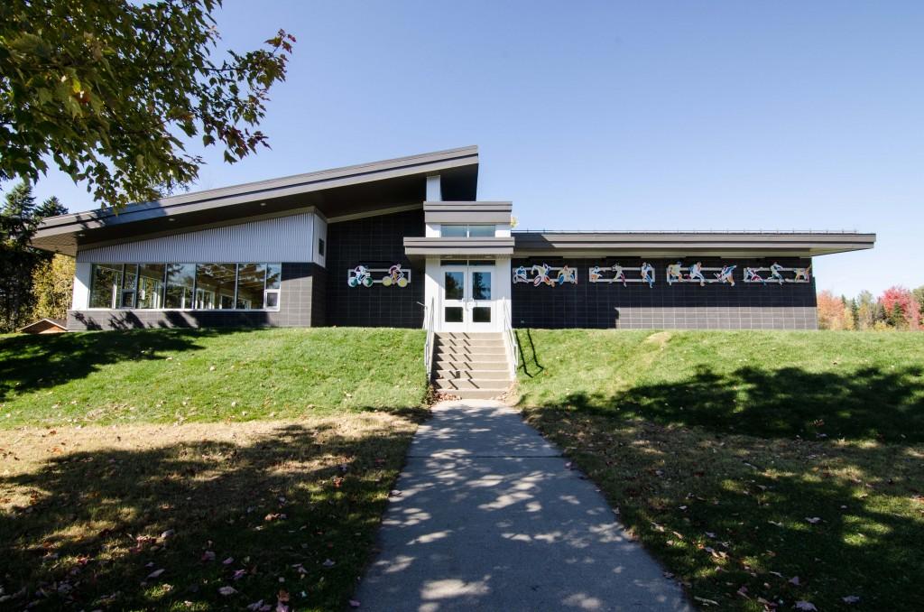 Bâtiment de services du parc André-Viger<span>Sherbrooke</span>