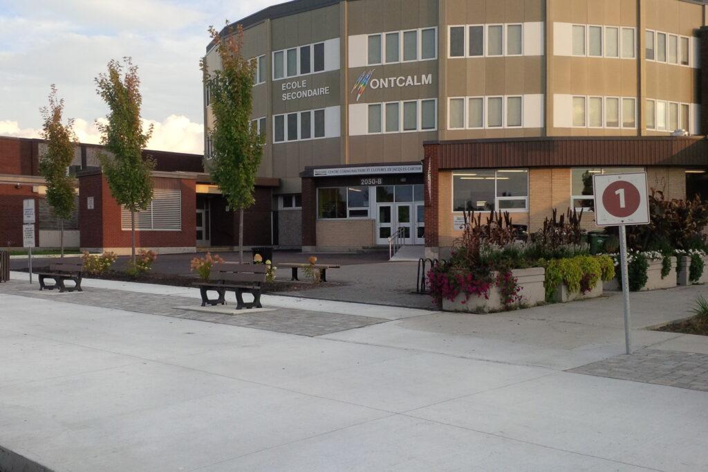 Réfection du débarcadère de l'école Montcalm<span>Sherbrooke, Québec</span>