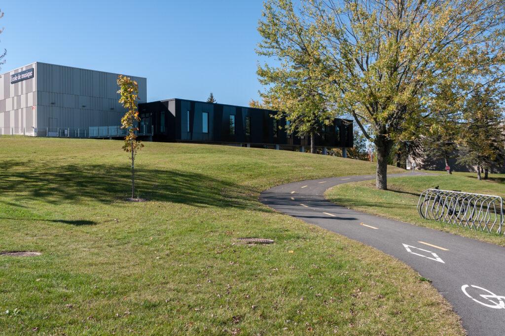 Piste cyclable de l'Université de Sherbrooke<span>Sherbrooke, Québec</span>
