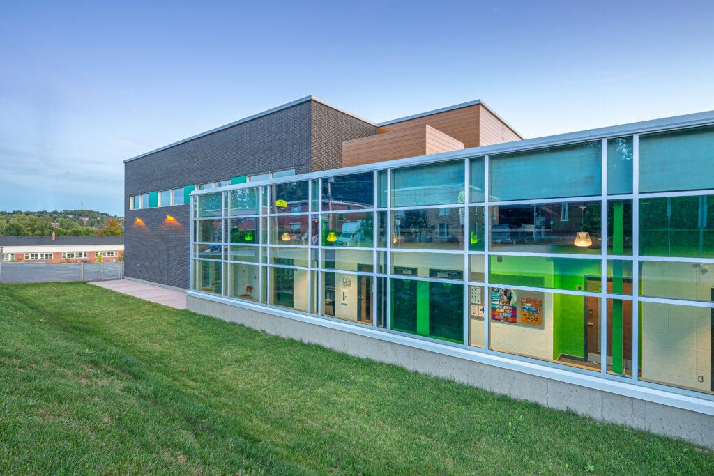 Agrandissement de l'école Pie-X-de-l'Assomption<span>Sherbrooke, Québec</span>