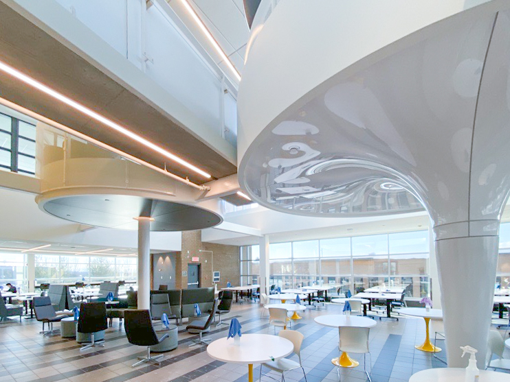 Rénovation de la cafétéria de l'Université de Sherbrooke<span>Sherbrooke, Québec</span>